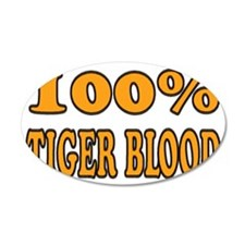 tigerbloodwhite Wall Decal