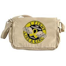 Fight Like A Girl Endometriosis 16.5 Messenger Bag