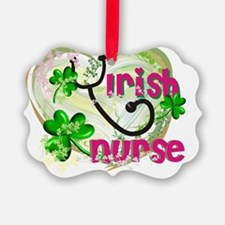 Irish Nurse Ornament