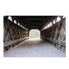 wooden bridge Postcards (Package of 8)
