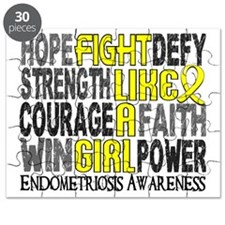 D Fight Like A Girl Endometriosis 23.3 Puzzle