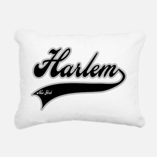 HARLEM NEW YORK Rectangular Canvas Pillow