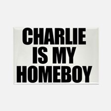 charlieismyhomeboy2 Rectangle Magnet