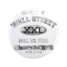"property of wall street dark 3.5"" Button"