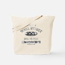 property of wall street dark Tote Bag