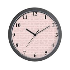 clcoksweetbaby Wall Clock