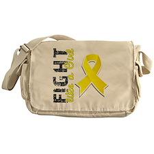 D Fight Like A Girl Endometriosis 28 Messenger Bag