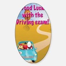 driving exam,good luck Decal