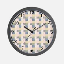 clockquilted Wall Clock