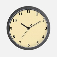 cremeclcok Wall Clock