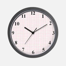 clockplaid Wall Clock