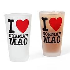 Mao T-shirt Drinking Glass