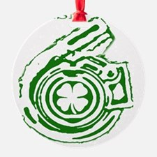 Boostgear St Pattys shirt Ornament