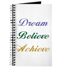 Dream Believe Achieve Journal