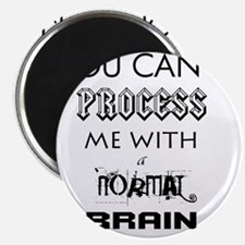 YOU CANT PROCESS ME Magnet