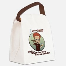 What the F#*k ... Canvas Lunch Bag