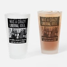 women voting Drinking Glass