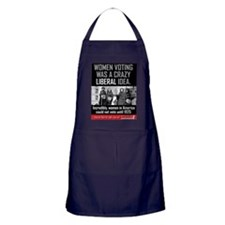 women voting Apron (dark)