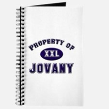Property of jovany Journal