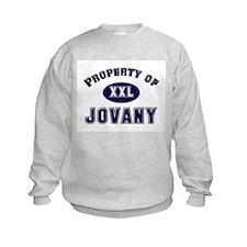 Property of jovany Sweatshirt