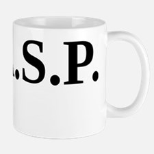 W.A.S.P. (black) Small Small Mug