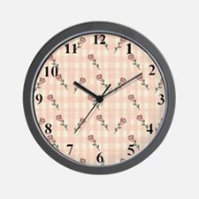 rosesclock Wall Clock