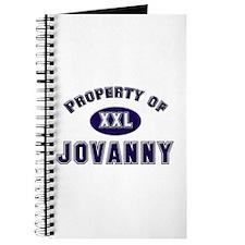 Property of jovanny Journal