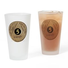 5coin Drinking Glass
