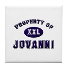 Property of jovanni Tile Coaster