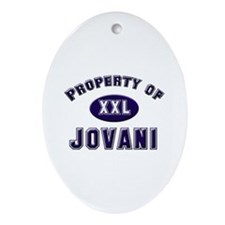 Property of jovani Oval Ornament