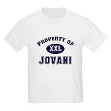 Property of jovani Kids T-Shirt