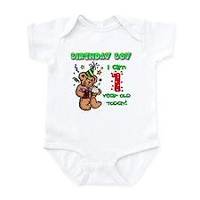 Birthday Boy Age 1 Infant Bodysuit