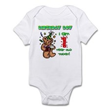 Birthday Boy Age 1 Onesie