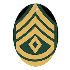 1SG LP Oval Ornament