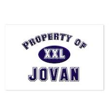 Property of jovan Postcards (Package of 8)