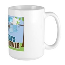Its A Boy Custom Baby shower Sign Mug