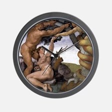 The Fall Wall Clock