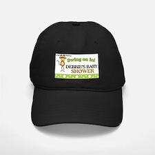 Monkey Baby Shower Sign Baseball Hat