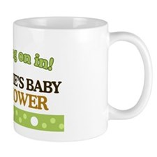 Monkey Baby Shower Sign Mug