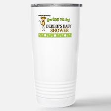 Monkey Baby Shower Sign Travel Mug