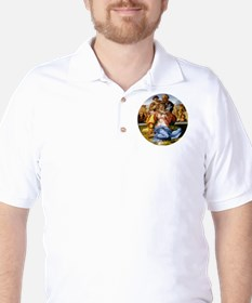 The Holy Family with Infant St John T-Shirt