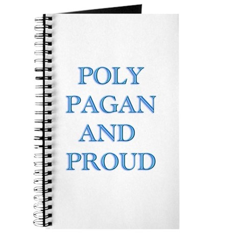 Poly pagan and proud words Journal