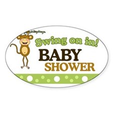 Monkey Baby Shower Yard sign Decal