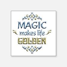 """MAGIC Square Sticker 3"""" x 3"""""""