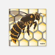 "Buzz Buzz Mousepad Square Sticker 3"" x 3"""