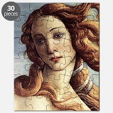 The Birth of Venus (detail) Puzzle