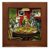 Poker Framed Tiles