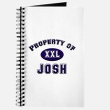 Property of josh Journal
