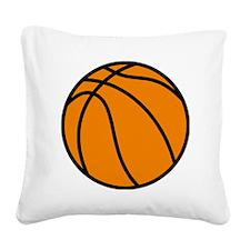 basketlogo01C Square Canvas Pillow