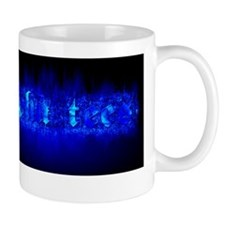 BlueFlamingAlphaTs Mug